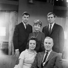"""The Hughes Family 1960 on the soap opera. As the World Turns.  My mom would do her ironing during her """"program""""."""