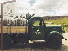 Ceres Wines Central Otago - #TruckinTractor - see some more on our Pinterest board! There's some cool methods of transport in the #nzwine industry New Zealand Wine, Central Otago, Wineries, Pinterest Board, Wine Tasting, Antique Cars, Art Gallery, Trucks, Photography