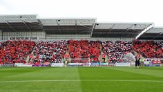 Cover photo Rotherham United, Cover Photos, The Unit, Football, Places, Futbol, American Football, Rotherham United F.c., Soccer Ball