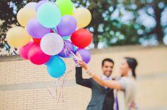 Toronto Indian Wedding Photography #DastanStudio #IsmailiWedding #balloons #weddingportrait