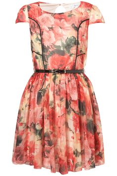 **Panelled Skater Dress by Rare - Dresses - Clothing - Topshop