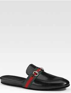 GUCCI Mens Slippers size 8 Very Elegant!