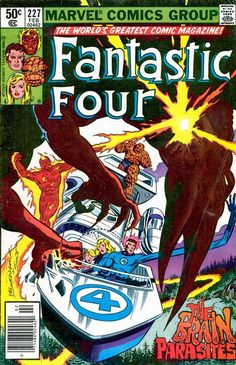 Fantastic Four 227- Bill Sienkiewicz