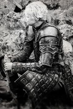 Brienne of Hair and Haircut from Game of Thrones? - Game of Thrones Brienne Von Tarth, Lady Brienne, Jaime And Brienne, Best Series, Hbo Series, Game Of Thrones Jaime, Divas, My Champion, The North Remembers