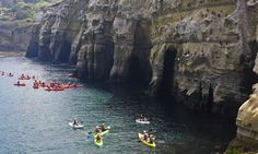 Things to Do in San Diego - kayak in la jolla