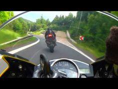 Chasing a Ninja on an R6 bike
