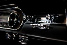 1960s Ford mustang Fastback dashboard