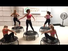 Bounce Society Fitness – Cha Cha Rutsche – Bounce Society – Cha Cha Rutsche … - Famous Last Words Jump Workout, Gym Workout Videos, Trampolines, Mini Trampoline Workout, Small Trampoline, Po Trainer, Wöchentliches Training, Workout Motivation Music, Exercise Physiology