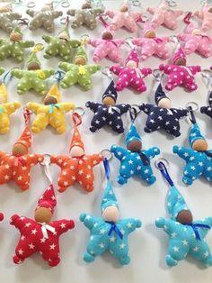 Nouveau patron de couture : un porte-clef Lutin en forme d'étoile « Blog de Petit Citron