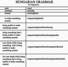 Венгерский язык ★ Hungarian language ★ Magyar ny Grammar Humor, Little Paris, Budapest, Something To Do, Funny Jokes, Haha, Fantasy, Education, Learning