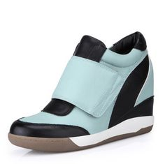 Find More   Information about New Classic fashion patchwork color block women's pink shoes velcro platform elevator sports single increased shoes 7,High Quality  ,China   Suppliers, Cheap   from ATT store on Aliexpress.com