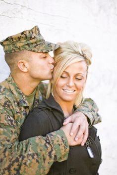 Image about love in my future life by lindsey wittekiend Army Couple Pictures, Couple Picture Poses, Cute Pictures, Couple Photos, Picture Ideas, Photo Ideas, Usmc Love, Military Love, Military Photos