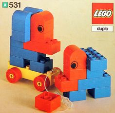 A Duplo set released in 1976.
