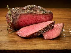 Herb Crusted Petite Top Sirloin - Pan Roasted and Finished with Pasture Butter and Fresh Thyme