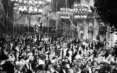 A scene from the film, Masquerad in Vienna, made by 1934 by director Willy Forst, shows the atmosphere of Viennese balls