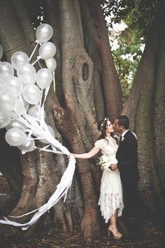 # black and white wedding ideas