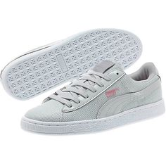 The Puma Gray Violet Basket Reset Women s Sneakers are fantastic d8f1fdf7e