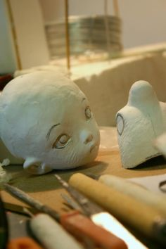 Linda Macario dolls    new one of a kind, work in progress...