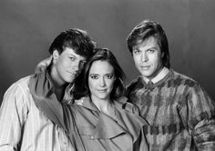 Tania Roskov (Hillary Edson) fell in love with Frisco (Jack Wagner) then his brother, Tony (Brad Maule). Tania and Tony married, but Tanya was killed by a hit-and-run driver and left Tony with their baby Barbara Jean (BJ). - 1980s #GH50