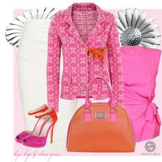 Business Outfits - go pink