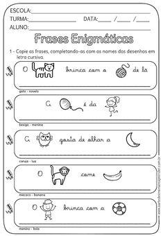 Atividade Pronta - Frases Enigmáticas