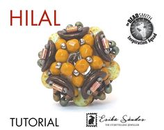 Hilal beaded bead tutorial instant dowload for the pdf