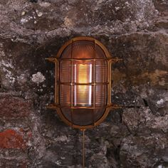Nautical Bulkhead Wall Light