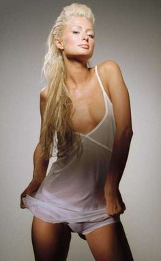 Paris Hilton in Conservative Church Clothes