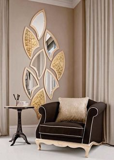 Top 15 Decorative Mirror Designs There are many different mirror designs. You will find below a few examples. We share with you, decorative mirrors in this photo gallery. The post Top 15 Decorative Mirror Designs appeared first on Decor Ideas.Home Decor I Home Decor Furniture, Luxury Furniture, Diy Home Decor, Furniture Design, Home Decoration, Furniture Makers, Furniture Removal, Wall Decorations, Fine Furniture