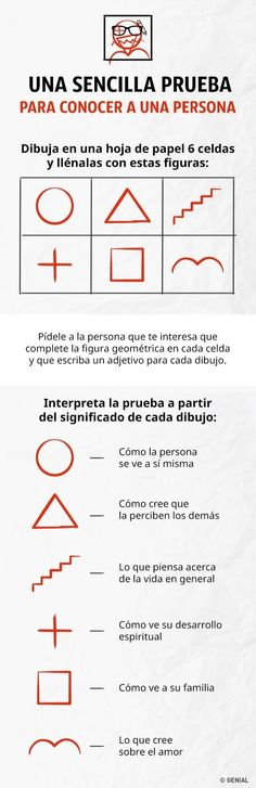 Pídele a una persona que haga esta prueba y sabrás todo acerca de ella - Fun Facts, Psychology, Knowledge, Positivity, Hacks, Teaching, Thoughts, Writing, Humor