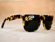 Flat Top Cheetah Sunglasses by RetroSuperFuture