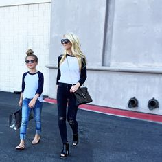 a little tee twinning with my soon to be 10 year old...gulp | all #ootd details on the blog @liketoknow.it www.... @liketoknow.it http://liketk.it/ZlrG #liketkit