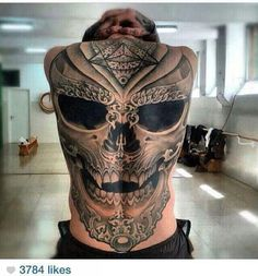 Nice skull tat!!