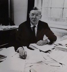 Sir John Pope-Hennessy, museum director.