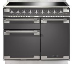 Buy a used Rangemaster Elise 100 Electric Induction Range Cooker Slate. ✅Compare prices by UK Leading retailers that sells ⭐Used Rangemaster Elise 100 Electric Induction Range Cooker Slate for cheap prices. Electric Range Cookers, Dual Fuel Range Cookers, Induction Range Cooker, Food Preparation, Slate, Mini