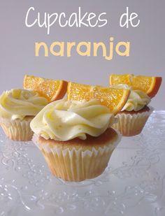 Sivila Happy Bakery : ♥ Cupcakes de naranja.