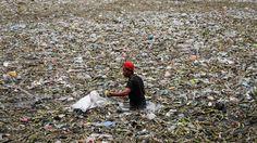 Manila: Müllschwemme vor der Hauptstadt der Philippinen