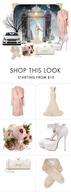 """Winter Wedding"" by thelydialondon ❤ liked on Polyvore featuring L.K.Bennett, Mercedes-Benz, Kate Spade, Reiss, Winter, wedding and romance"