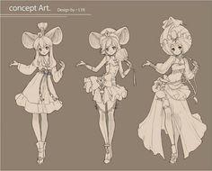 Concept art design by LYK