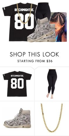 """BITCHIMIGHTBE #2"" by fxshion-kxller ❤ liked on Polyvore featuring Timberland, Lauren Ralph Lauren and plus size clothing"