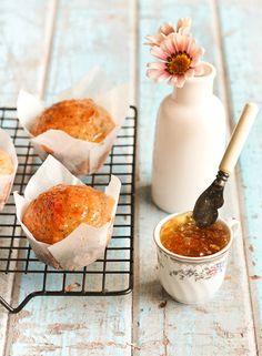 Earl Grey Poppyseed muffin