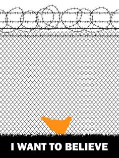 I Want To Believe -The Legendary Litchfield Prison Chicken Poster Inspired by Orange Is the New Black