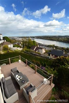 House for sale in Montenotte, Cork City Property Listing, Property For Sale, Cork City, Apartments For Sale, Outdoor Furniture, Outdoor Decor, Sun Lounger, New Homes, Deck
