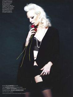 Lili Sumner by Hayley Bayliffe for Remix Magazine Goth, Lily, Magazine, Model, Inspiration, Style, Fashion, Gothic, Biblical Inspiration