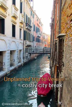 http://www.sandspice.com/final-venice-budget Venice Budget : A short trip to Venice is potentially one of the most costly city breaks you can take. Why is Venice so expensive?  #Travel #Venice