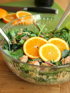 Kale and Quinoa Salmon Salad by The Weary Chef