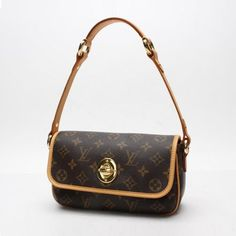 Louis Vuitton Tikal PM Shoulder bags Brown Canvas M40078