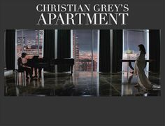 Christian Grey's living room. What an amazing view.