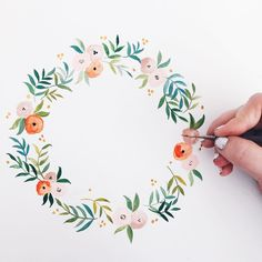 "좋아요 760개, 댓글 15개 - Instagram의 Shannon Kirsten Illustration(@shannonkirsten)님: ""New wreath in progress ✍ 