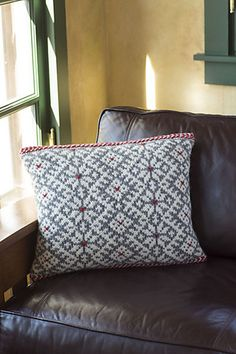 Ravelry: Snorri Cushion pattern by Lucinda Guy